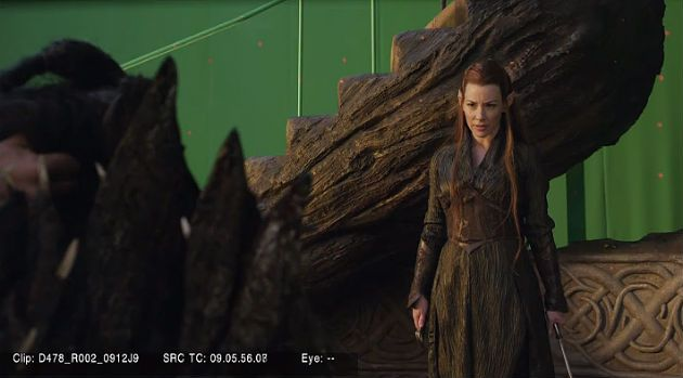 The Hobbit The Desolution of Smaug Behind-the-Scenes Photos 1