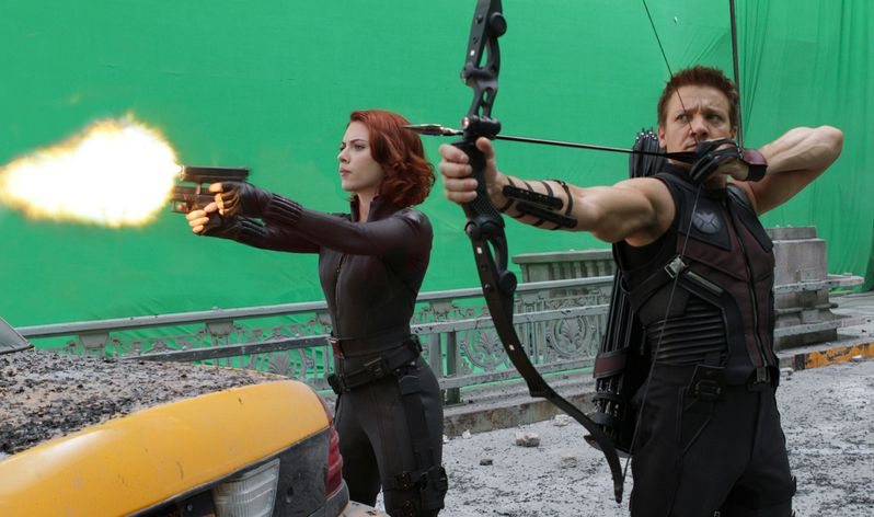 The Avengers special FX photo 2a