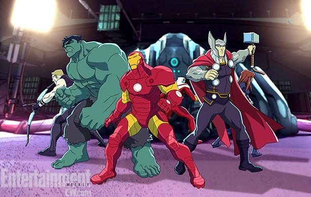 <strong><em>Avengers Assemble</em></strong> Photo