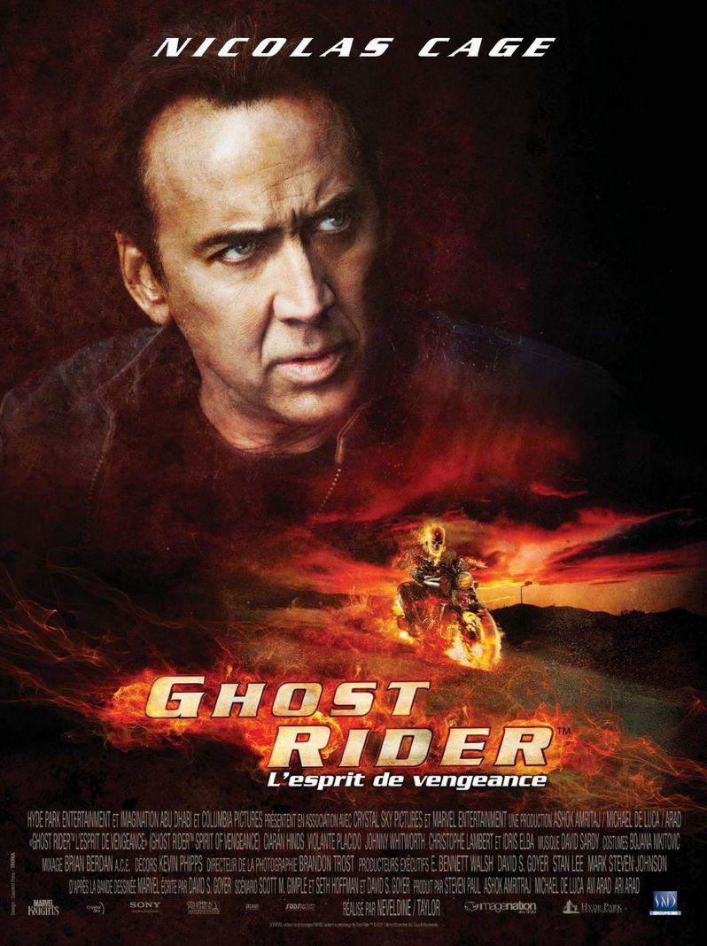 <strong><em>Ghost Rider Spirit of Vengeance</em></strong> French Poster