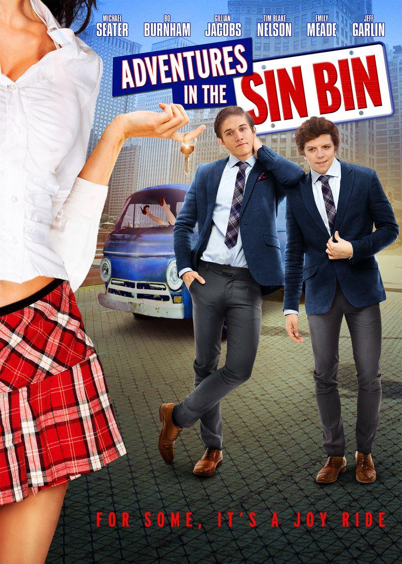 Adventures in the Sin bin poster