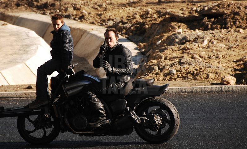 Ghost Rider: Spirit of Vengeance Stunt Photos #1