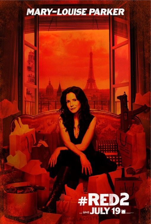 <strong><em>Red 2</em></strong> Mary-Louise Parker Poster