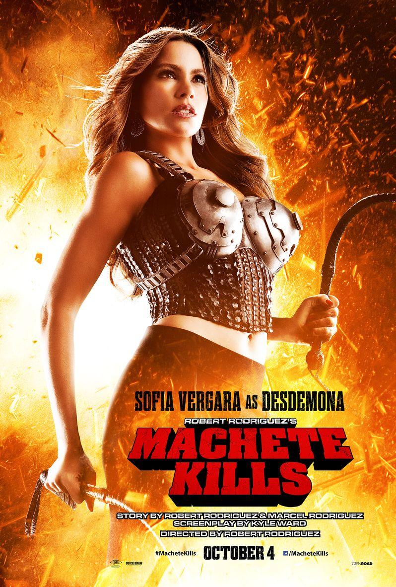 <strong><em>Machete Kills</em></strong> Sofia Vergara Character Poster
