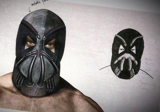 <strong><em>The Dark Knight Rises</em></strong> concept art Bane 3