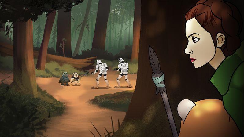 <strong><em>Star Wars Forces of Destiny</em></strong> - Season 1 photo 2
