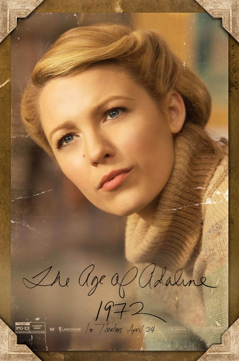 <strong><em>The Age of Adaline</em></strong> 1972 Poster
