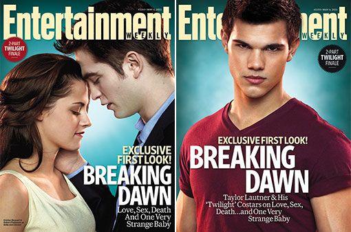 <strong><em>The Twilight Saga: Breaking Dawn - Part 1</em></strong> EW Cover #3