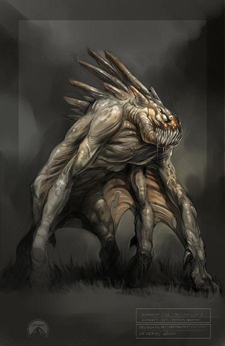 Possible <strong><em>Super 8</em></strong> Alien Concept Art