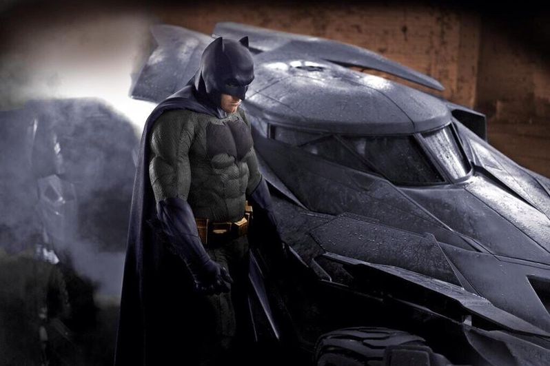 Batman Vs. Superman Photo Color Version