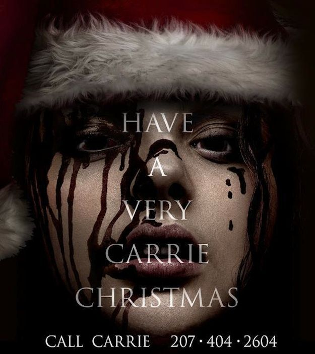 Have a very <strong><em>Carrie</em></strong> Christmas Photo