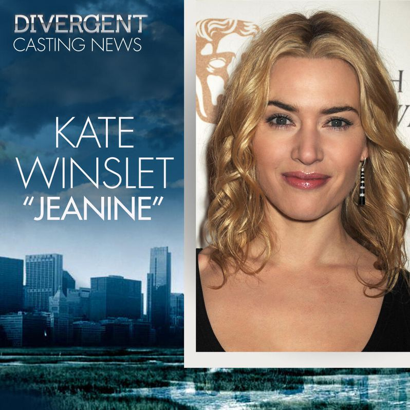 <strong><em>Divergent</em></strong> Kate Winslet Cast Announcement