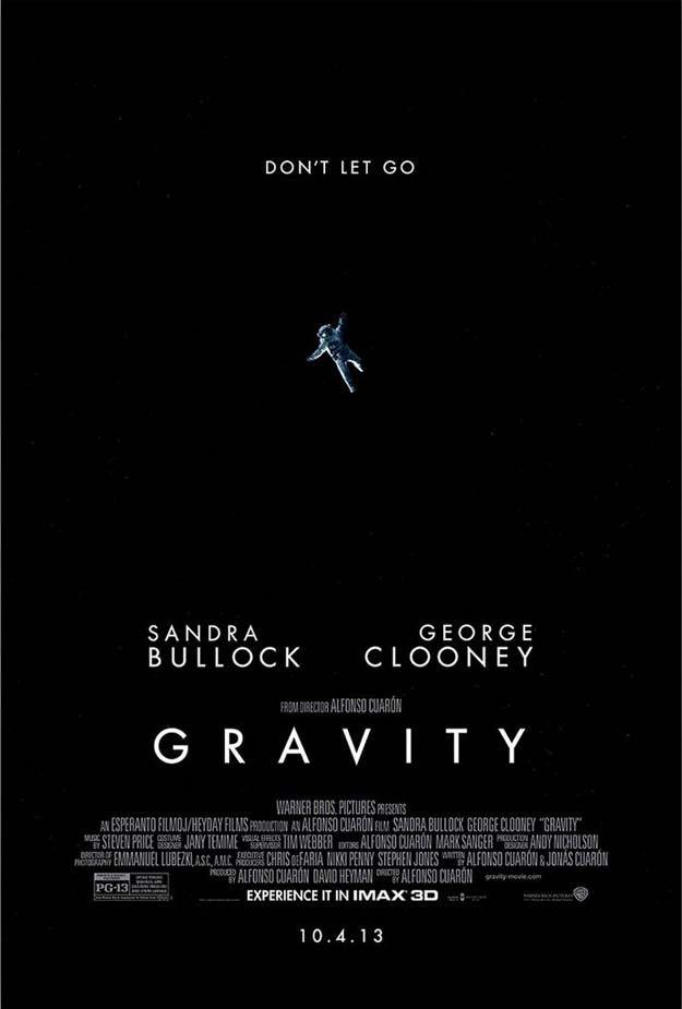 <strong><em>Gravity</em></strong> IMAX Poster