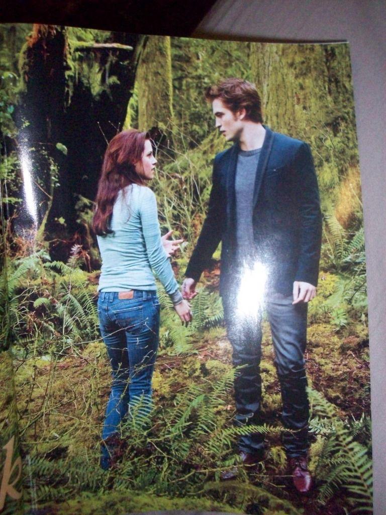 Robert Pattinson and Kristen Stewart in <strong><em>The Twilight Saga: Eclipse</em></strong>