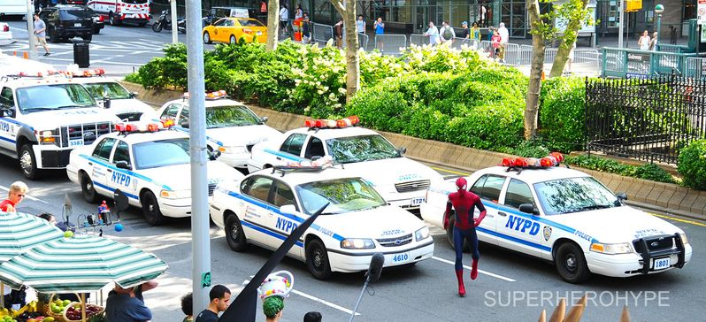 The Amazing Spider-man 2 On Set #3