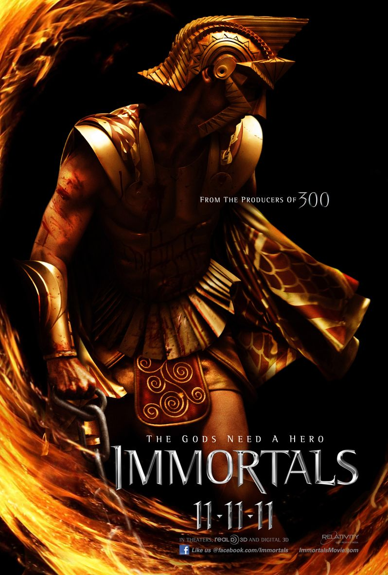 <strong><em>Immortals</em></strong> Character Poster #8