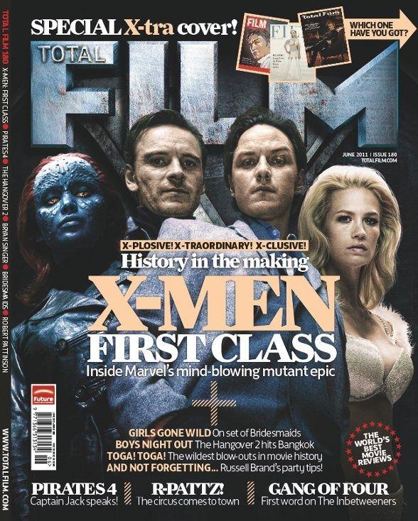 X-Men First Class Total Film Magazine Cover #1