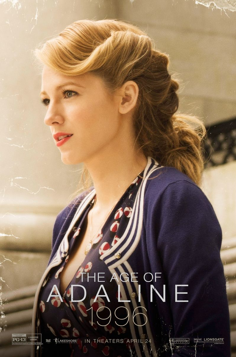 <strong><em>The Age of Adaline</em></strong> 1996 Poster