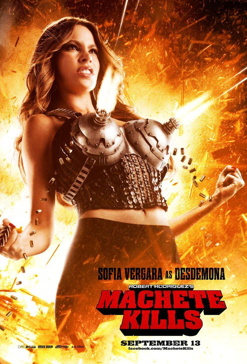 <strong><em>Machete Kills</em></strong> Sofia Vergara Poster