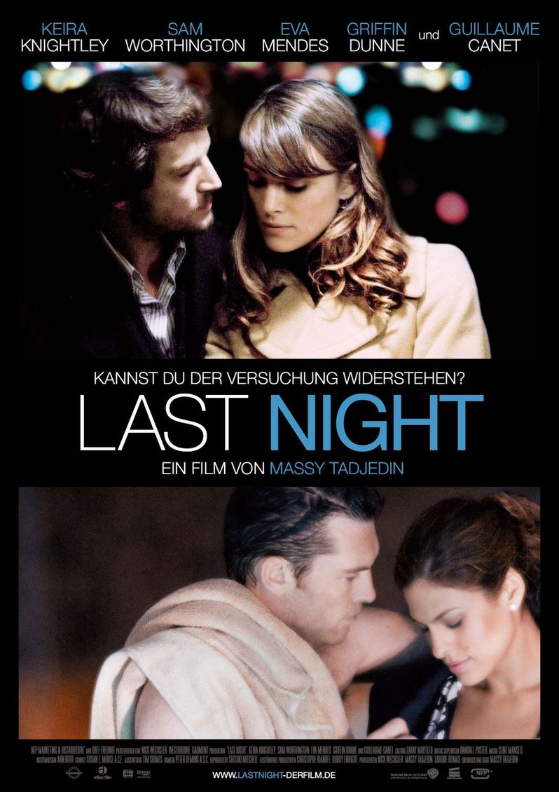 <strong><em>Last Night</em></strong> acquired by Miramax Films for a Spring 2011 theatrical and VOD release