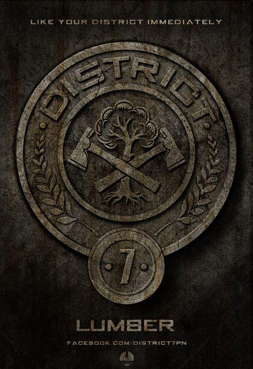 <strong><em>The Hunger Games</em></strong> District 7 Poster
