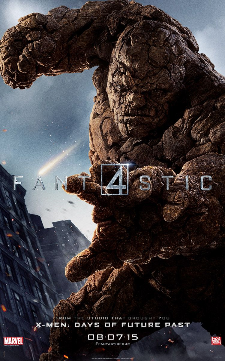 <strong><em>Fantastic Four</em></strong> The Thing Character Poster