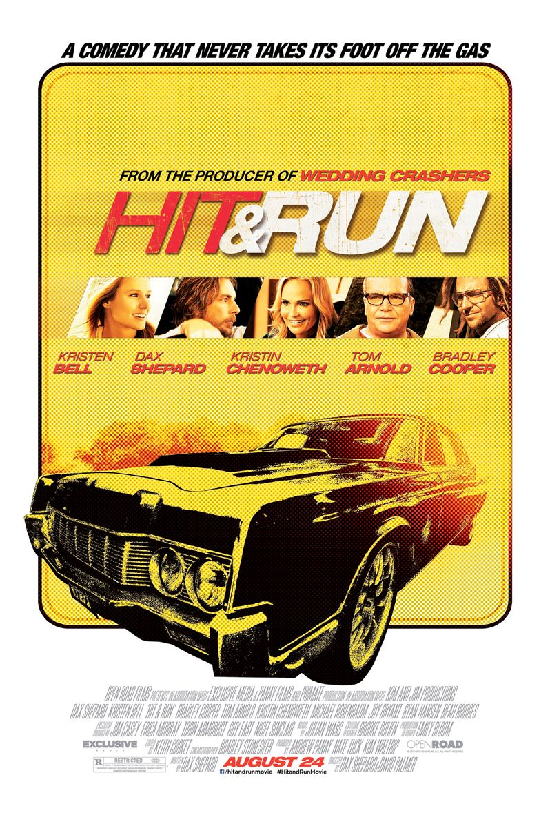 <strong><em>Hit and Run</em></strong> Poster