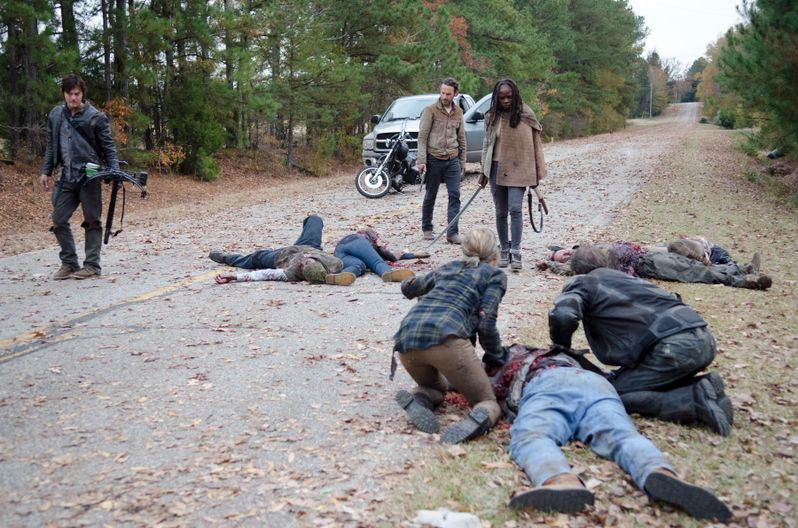 <strong><em>The Walking Dead</em></strong> Welcome to the Tombs Photo 4