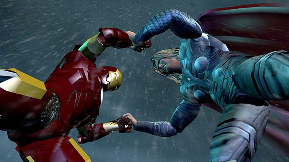 The Avengers special FX photo 2