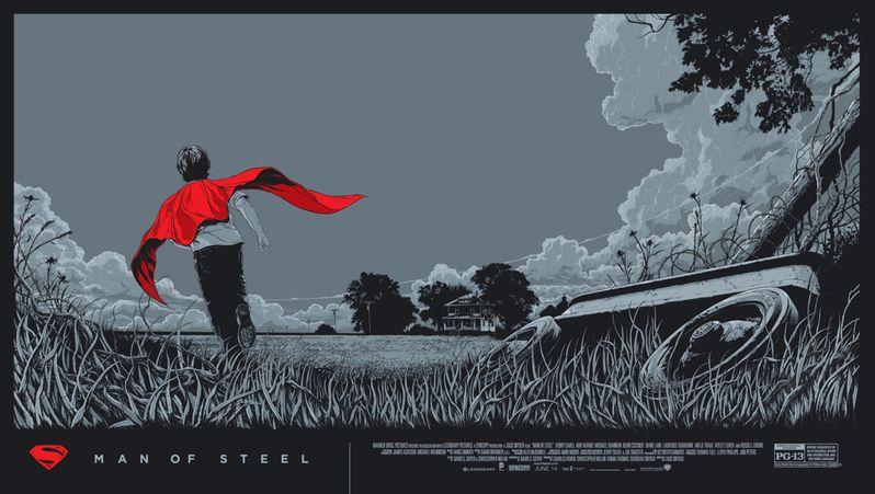 <strong><em>Man of Steel</em></strong> Mondo Poster 2