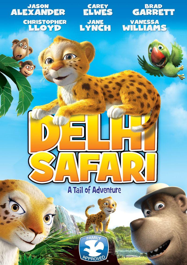 <strong><em>Delhi Safari</em></strong> Poster