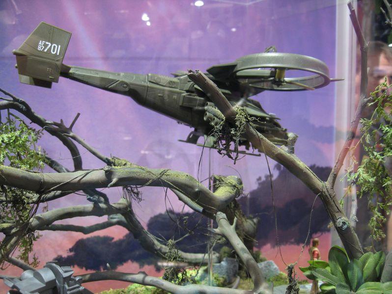 <strong><em>Avatar</em></strong> Futuristic Helicopter