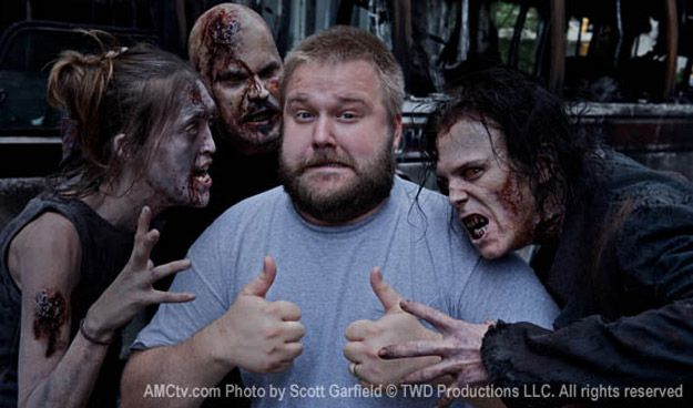 Comic book creator Robert Kirkman on <strong><em>The Walking Dead</em></strong> set