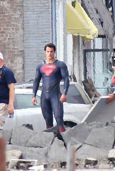 Henry Cavill as the <strong><em>Man of Steel</em></strong> #1