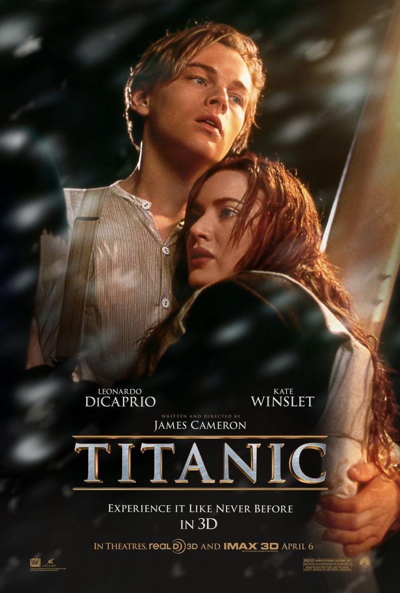 <strong><em>Titanic</em></strong> 3D Poster
