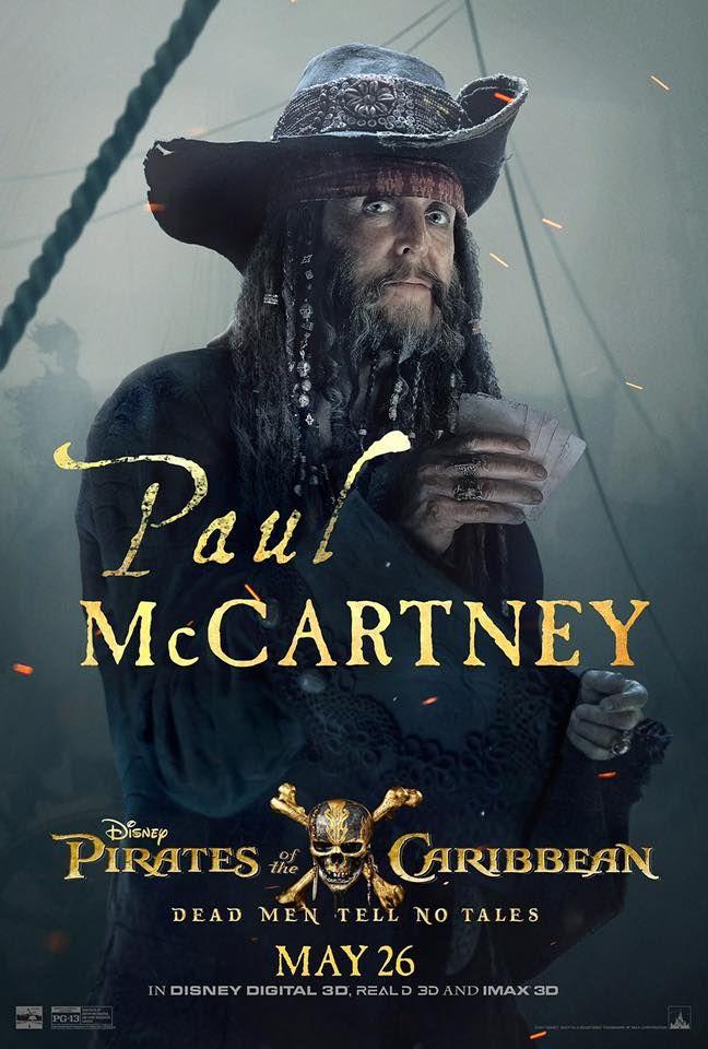 Pirates 5 Paul McCartney Poster