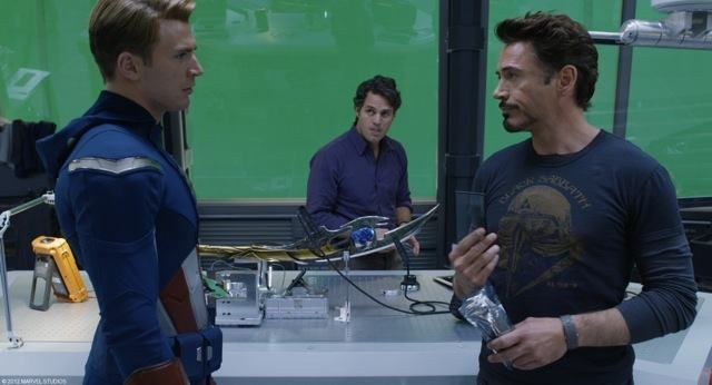The Avengers special FX photo 4a
