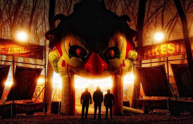 Silent Hill: Revelations 3D Amusement Park Set Photo #1