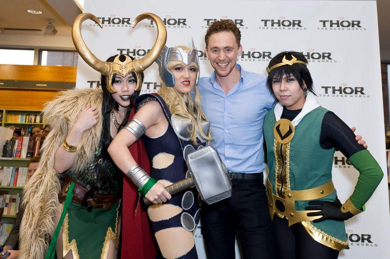 Thor The Dark World International Tour 9