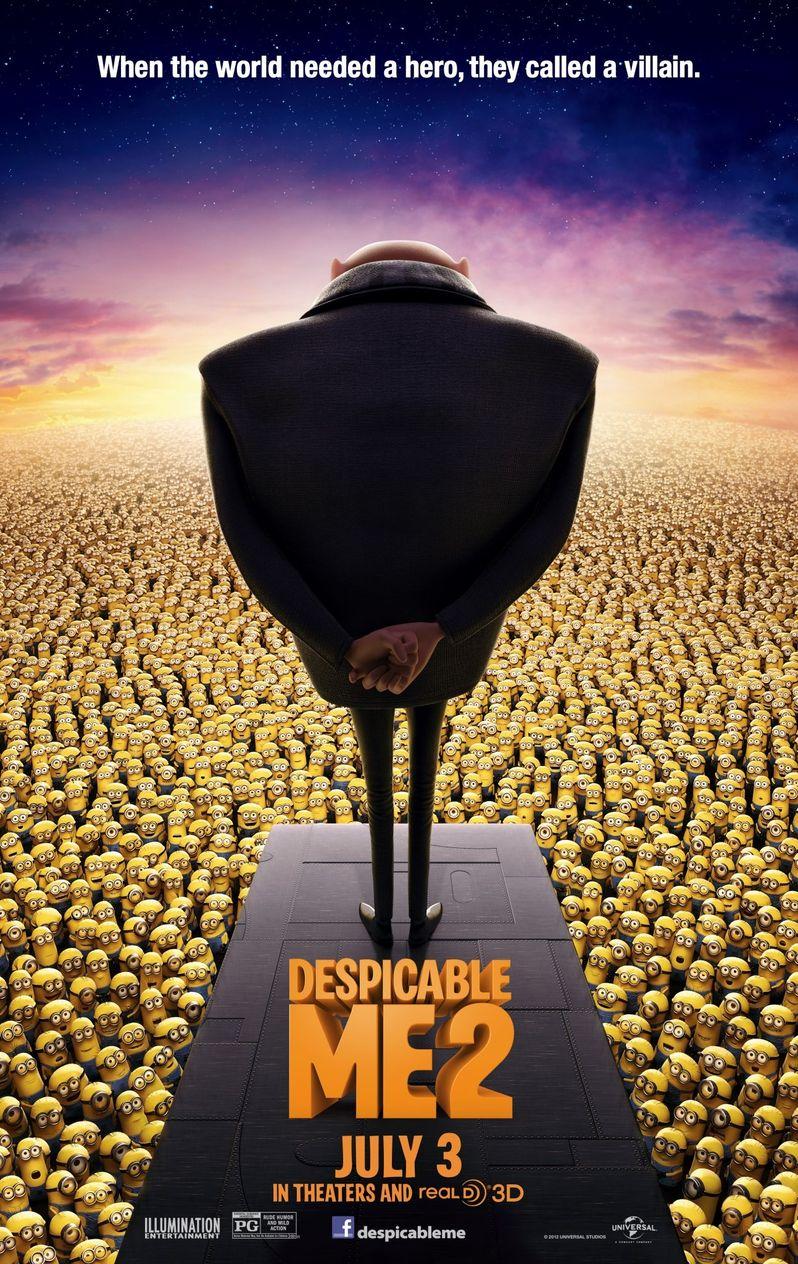 <strong><em>Despicable Me 2</em></strong> Poster