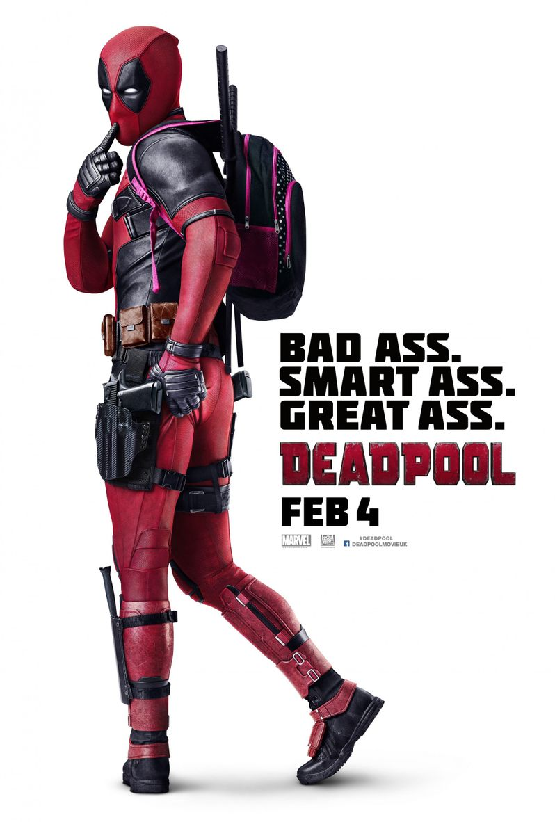 <strong><em>Deadpool</em></strong> international Poster