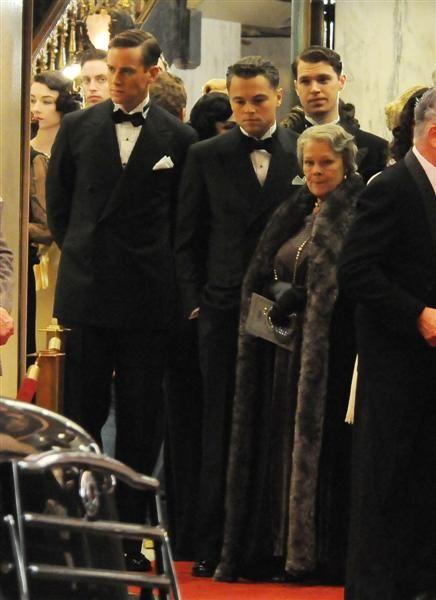 Armie Hammer, Leonardo DiCaprio and Judi Dench in <strong><em>J. Edgar</em></strong>