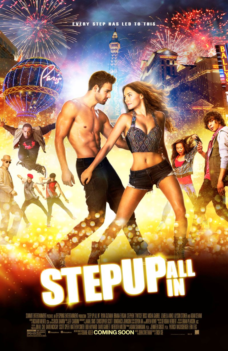 <strong><em>Step Up All In</em></strong> Poster