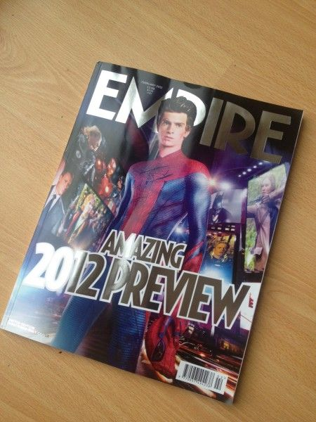 <strong><em>The Amazing Spider-Man</em></strong> Empire Magazine Photo #1