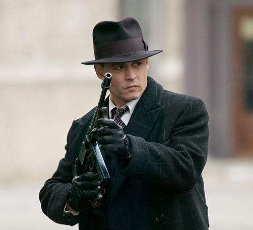 Johnny Depp <strong><em>Public Enemies</em></strong>