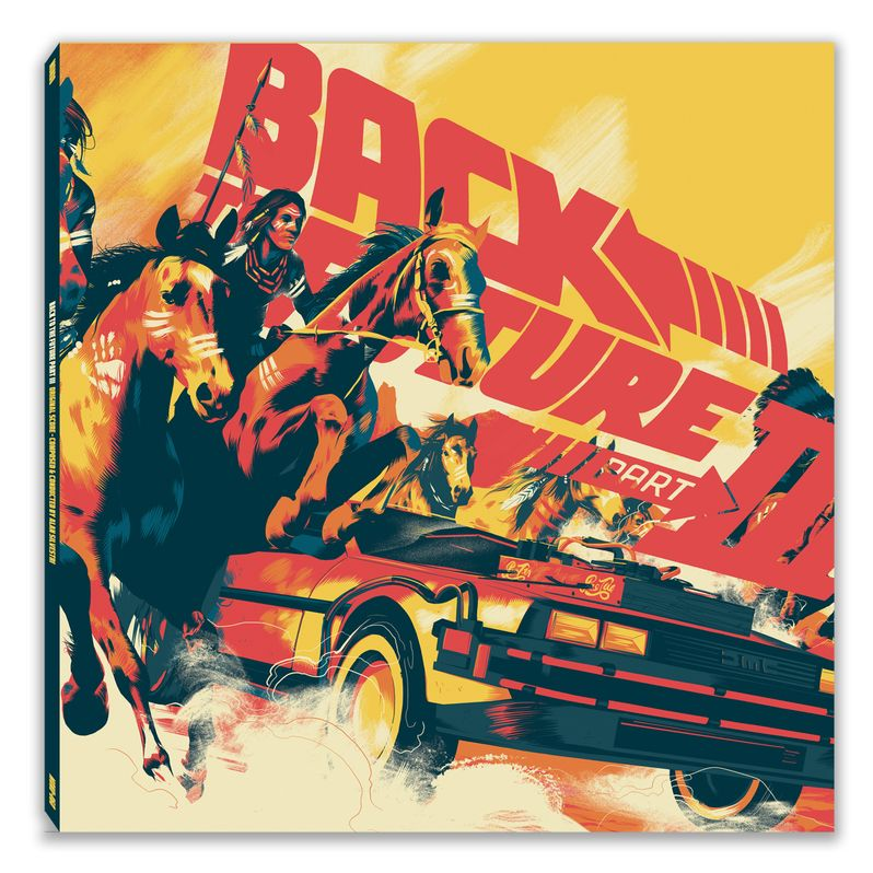 Back to the Future trilogy Soundtrack Vinyl photo 8