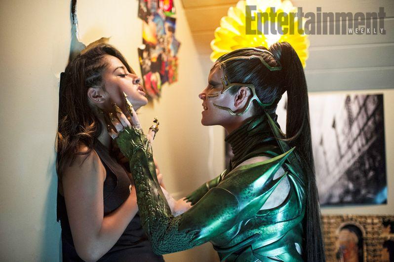 <strong><em>Power Rangers</em></strong> Rita Repulsa Yellow Ranger Photo
