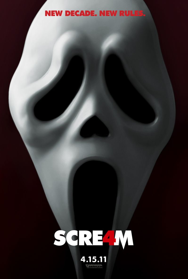 <strong><em>Scream 4</em></strong> Teaser Poster