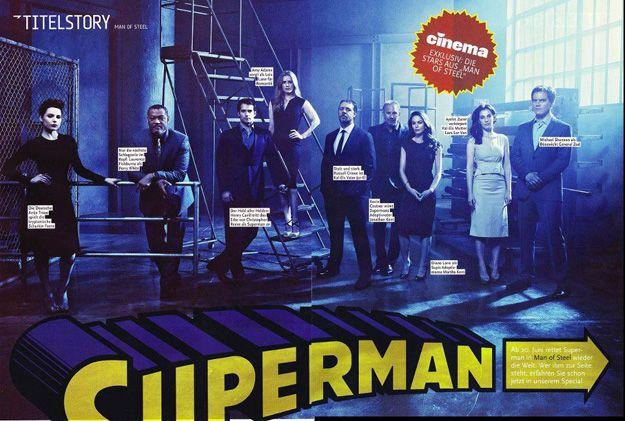 Man Of Steel Cast Photo
