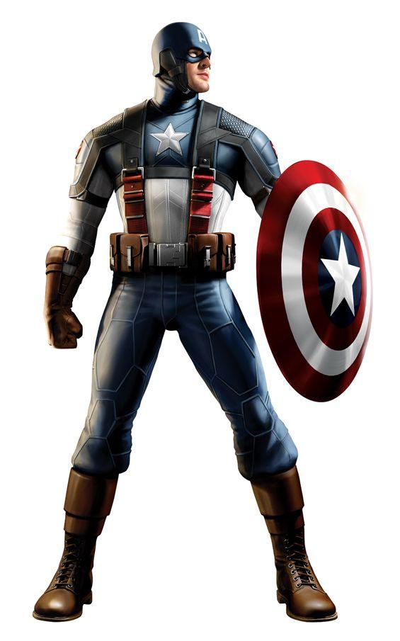 Captain America Concept Art #3
